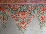Floral pattern fresco