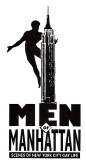 1990 - Logo for MEN OF MANHATTAN
