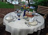 Lakeside table