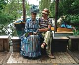 Sailing the Seine by Seward Johnson