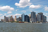 Lower Manhattan, seen from Governors Island