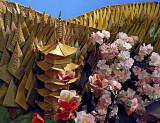 Origami pagoda