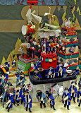 Origami parade float