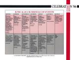 1986 - CELEBRATION '86 calendar