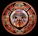 Sun mask, Northwest coast Native American