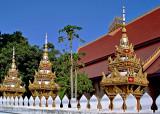 Thats (stupas) at Wat Chanthabuli