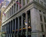 Columned building on Wall Street