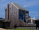House on Ocean Walk seen from the beach
