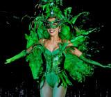 Opening: dancer in green