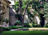 Garden behind the Frick Museum