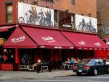 Sidewalk bar and restaurant
