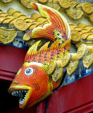 Roof detail, fish