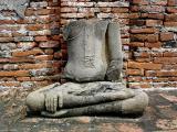 Incomplete Buddha image