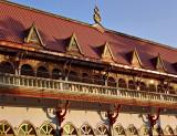 Wat Ong Teu at sunset