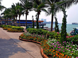South Pattaya Beach promenade