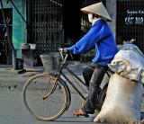 Transporting by bicycle