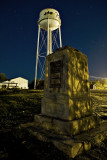 Sons of Martha monument and water tower