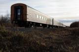 Polar Bear Express heads south from Moosonee 2012 October 12th