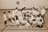 Science Camp 2006 in Moosonee - getting ready for group picture
