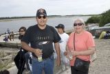 Earl and Nancy in town for National Cree Gathering