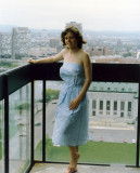 Honeymoon, 1984  - Marilyn at the hotel in Ottawa