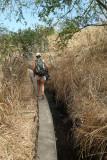 Canal d'irrigation en Afrique ? Non, sur l'île de la Réunion !