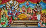 Temple en Inde ? Non, île de la Réunion