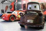 Exposition des voitures du film Cars