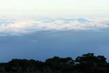 Les nuages au-dessus de l'océan Indien depuis le point de vue du Maïdo