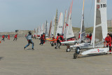 6 heures de Berck 2008 - Course de chars à voile - Land yachting at Berck sur Mer