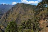 Randonnée du Cap Noir et de la Roche Vert Bouteille - Panoramas sur le cirque de Mafate