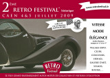 Rétro Festival 2009 - Carte postale de promotion