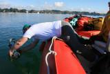 Photos par mon ami Yvon du making of de mon essai de prises de vues avec ma housse étanche Ewa Marine