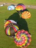 Lorraine Mondial Air Ballons 2009 - Vol de Christine le soir du mardi 28 juillet