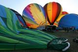 Hottolfiades 2009 - Rassemblement de ballons à Hotton - Vol du samedi soir