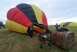 Hottolfiades 2009 - Rassemblement de ballons à Hotton - Vol du samedi matin
