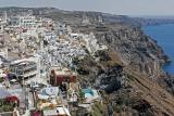 In the village of Phira (or Fira)