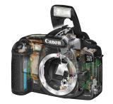 Canon EOS 20D open view