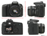 Canon EOS 20D all round view
