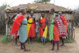 Visite d'un village Masaï situé en bordure de la réserve de Masaï-Mara