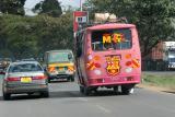 En route pour la réserve d'Amboséli