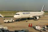 A Orly avant notre décolage en Airbus A320