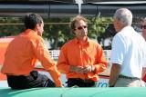 Franck Cammas, skipper, et Franck Proffit, navigateur