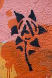 'A' flower