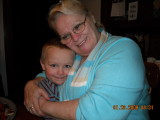 me and Baily Bug my grandson