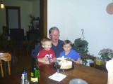 Grandpa and the boys