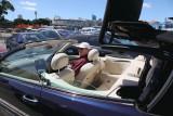 Rick enjoying Mireille's car