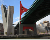 Guggenheim Museum and bridge