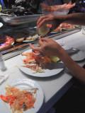 Seafood lunch at Mercado San Miguel