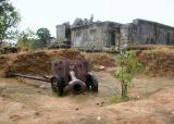 Old Kmer Rouge artillery
